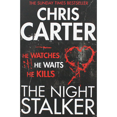 The Night Stalker by Chris Carter (Paperback), Fiction Books, Brand New