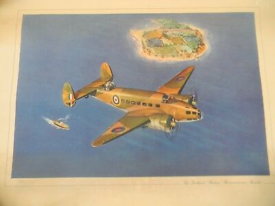 2 Vintage Wwii Lockheed Aviation Posters / Prints -  World War Two