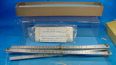 Dl Vintage Morilla 1290 Quick Change Precision Pantograph In Box W/ Instructions
