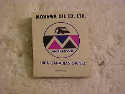 Complete Unused Mohawk Oil Company Matchbook