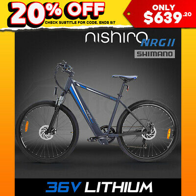 NEW Nishiro Electric Bike - E-Bike 36V Bicycle Battery Motorised ebike Lithium