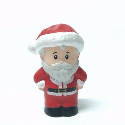 """2.0""""Fisher Price Little People SANTA CLAUS Christmas Holiday St Nick at Home Toy"""