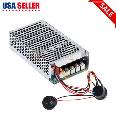 12V 24V 100A 3000W Programable Reversible DC Motor Speed Controller PWM US S3D5