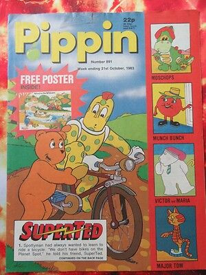 Pippin Comic 21 October No.891 Fn  Unread Unsold Newsagents Stock.