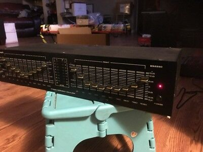 NUMARK 10-Band Stereo Frequency Equalizer Model EQ2250 Made In Japan