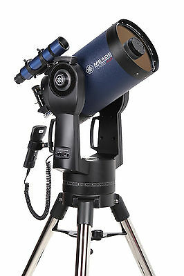 """Meade LX90 ACF 8"""" F/10 with Tripod FREE Meade Equatorial Wedge ($299 Value)"""