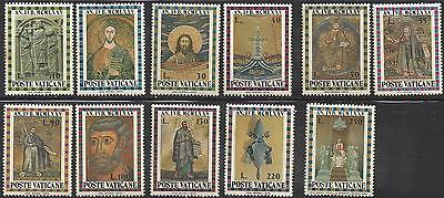 1974 Vatican city SET OF 11 stamps HOLY YEAR MNH