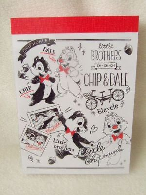 Disney Chip & Dale mini memo pad  kamio