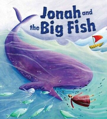 My First Bible Stories Old Testament: Jonah and the Big Fish (Paperback), Sully.
