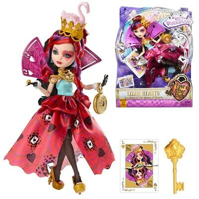 Ever After High Doll - Way too Wonderland Lizzie Hearts