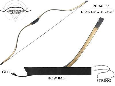 Traditional Tang Long Syhas Archery Practice Maple Laminated  Recurve Longbow
