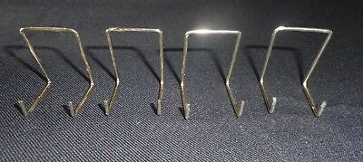 4 MINIATURE PLATE STANDS BRASSED ideal for compacts size 0 & MINIATURE PLATE - £1.25 | PicClick UK