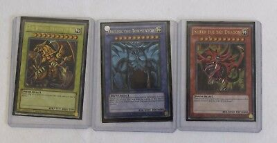 Yu Gi Oh Egyptian God Cards Complete Set (Hospiscare)