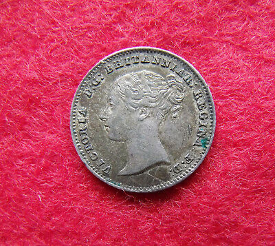 1838 Fourpence Groat Victoria