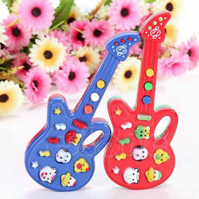 1PC Mini Guitar Toy Children Kids Baby Musical Instrument Piano Toy Gift HOT