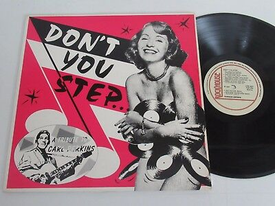 Various Artists/don´t You Step...a Tribute To Carl Perkins Lp Rockhouse Lpm 9004
