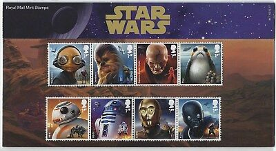 Great Britain 2017 Star Wars 2017 Presentation Pack Unmounted Mint, Mnh