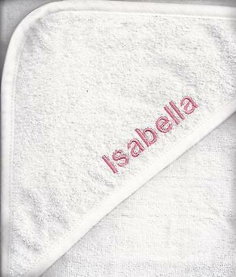 Hooded Baby Towel, personalised
