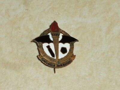 WW2. Rare badge of the South African Air Force. Fine condition. RAF.
