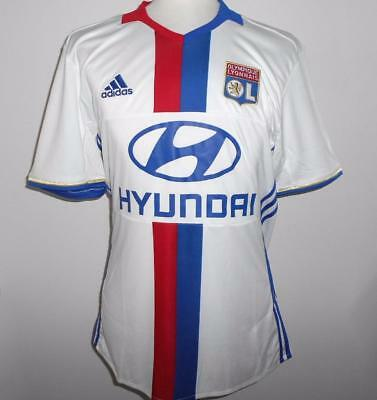 OLYMPIQUE LYON Adidas Home Shirt 2016/17 NEW M,XL,XXL Maillot Domicile 16/17 OL