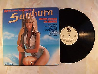 Sunburn - Vinyl LP Soundtrack Album - Farah Fawcett Cover - Various Artists