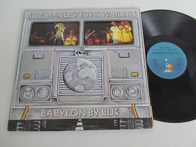 BOB MARLEY&THE WAILERS/BABYLON BY BUS-LIVE  2xLP 1978 ISLAND 300 152-406+POSTER
