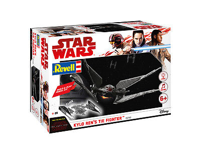 45432 Revell 06760 Star Wars Kylo Ren`s Tie Fighter Sound Licht Bausatz NEU OVP