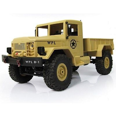 4WD RC Truck Off-Road Vehicle 2.4G Remote Control Crawler 1:16 4X4 Miltary Truck