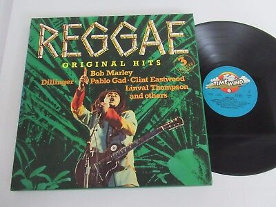 VARIOUS ARTISTS/REGGAE ORIGINAL HITS 3xLP TIME WIND BURNING ROCKERS F-3 0001 BOX