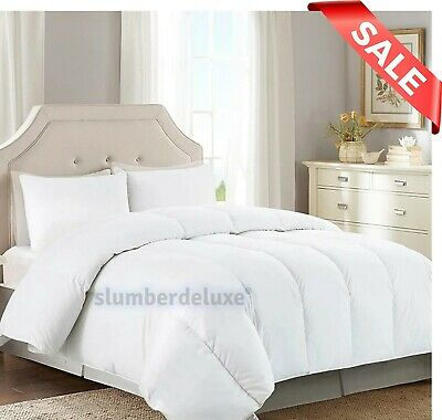 13.5 TOG Heavy Weight Winter Warm Quilt Duvet Blended Cotton ALL SIZES AVAILABLE