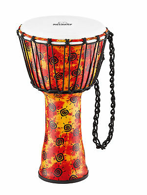 Meinl Nino Djembe Rope Tuned 10'' - NINO-PDJ1-M-F - Synthetic Head