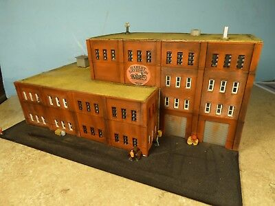 N Scale HARLEY DAVIDSON MOTOR CYCLE FACTORY   (weathered & Detailed)
