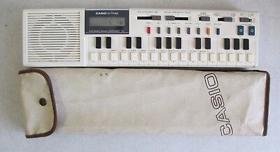 1979 Casio Vl-Tone Vl-1 Monophonic Synthesizer Sequencer Keyboard Instrument