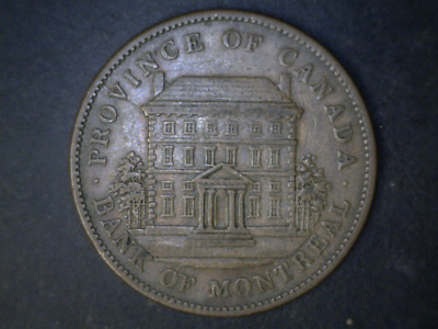 Bank of Montreal one Penny Token Canada