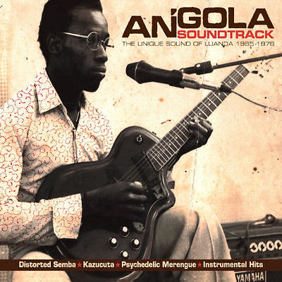 Angola Soundtrack - The Unique Sound Of Luanda 1968-1976 ANALOG AFRICA 2LP AFRO