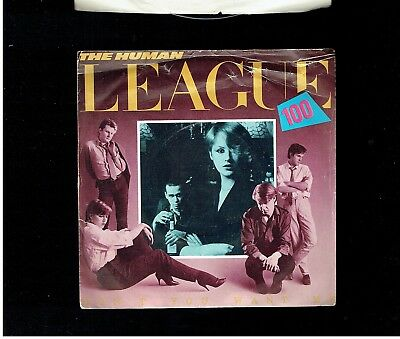 Human League Don't You Want Me Ps 45 1981