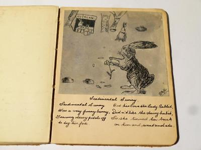 First World War Signature Sketches Paintings Artwork Album Book #WWI-2