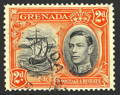 Grenada Used #136A Perf 14, Outstanding