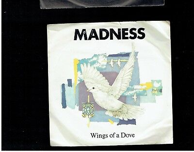 Madness Wings Of A Dove Ps 45 1983
