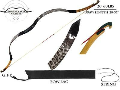 20-60lbs Traditional Chinese Compound Bow Hunting Horsebow Longbow Archery Bow