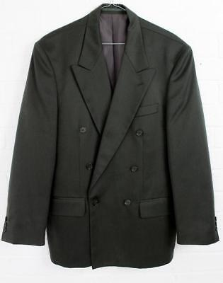 Vintage 1980s Mens Burton Double Breasted Suit Jacket