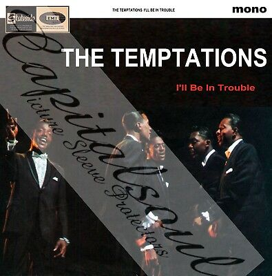 60S R/b Soul Motown Stateside The Temptations I'll Be In Trouble Picture Sleeve