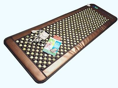 HealthyLine InfraMat Pro Full Mat Heat Therapy W/ Tourmaline & Jade Stones 72X24