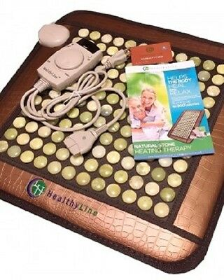NEW HealthyLine InfraMat Pro Smallpad Heat Therapy With Jade Stones 18X18