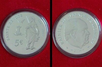 5 Euro Monaco 2004 - PROOF - Sainte DEVOTE