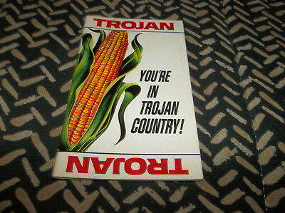 Vtg 1960s Trojan Seed Co Advertising Notepad Booklet w 30 Pages of Information