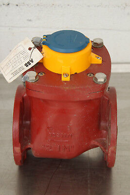"""Elster Amco Abb Wph-H-D-D 3055081 2"""" Water Meter Flange New"""