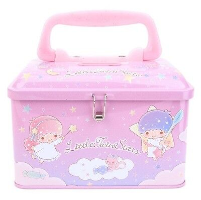 2017 Sanrio Little Twin Stars Tin Coin Bank