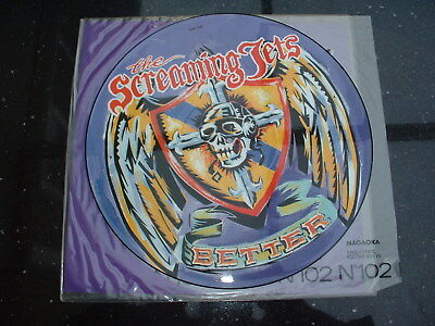 """Screaming Jets - Better (12"""" Picture Disc Mint!!! 1991)"""