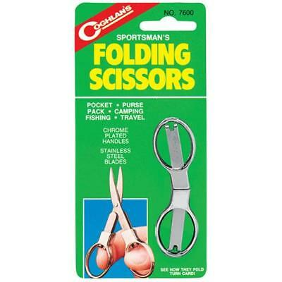 Coghlan's 7600 Compact Folding Scissors Blades That Are Housed In The Handels